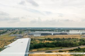 Vu du Ciel : Usine Airbus de Nantes-Bouguenais
